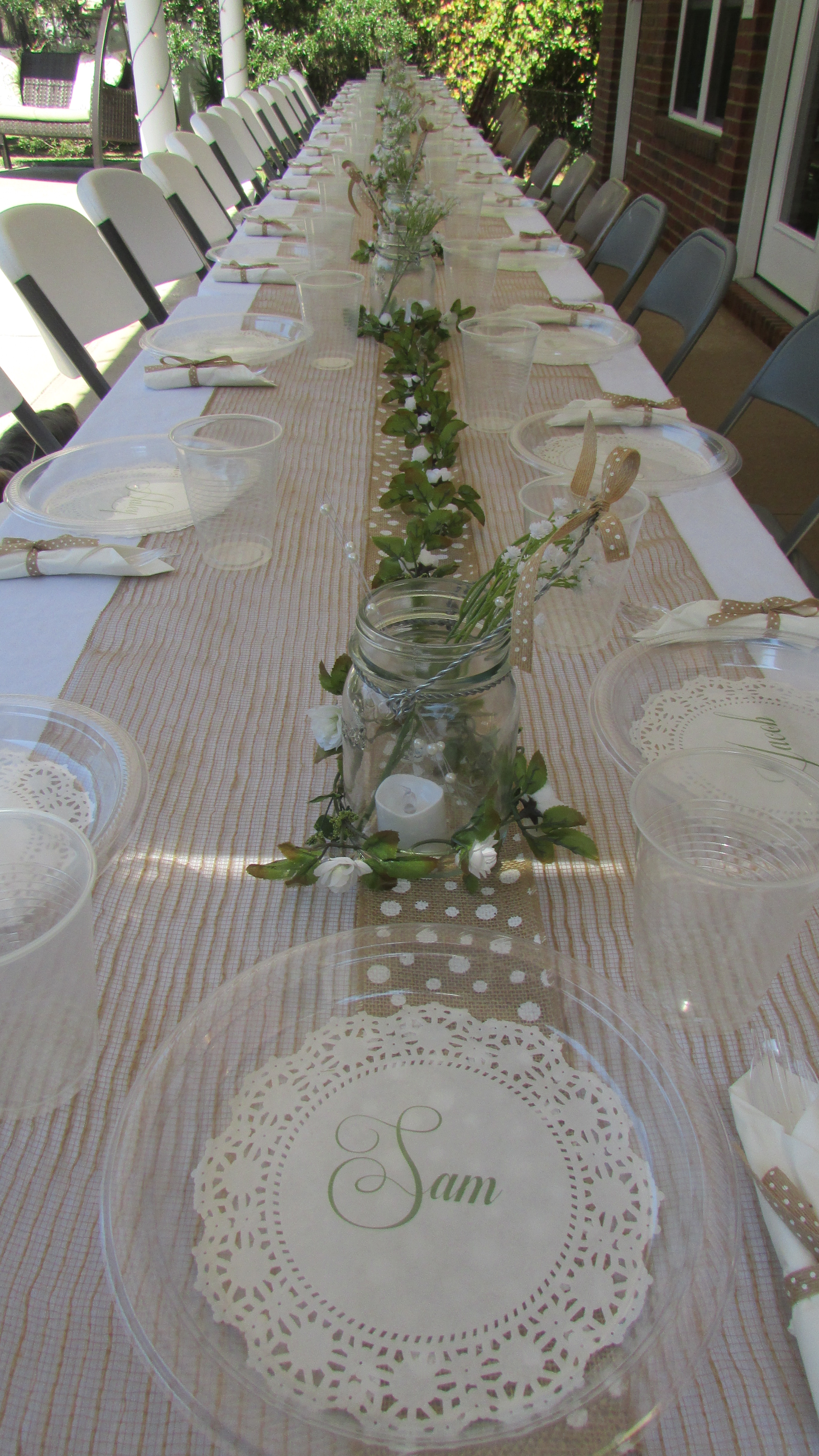 Personalized Paper Doilies